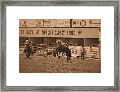Rodeo  Framed Print by Stormys Unique   Creations