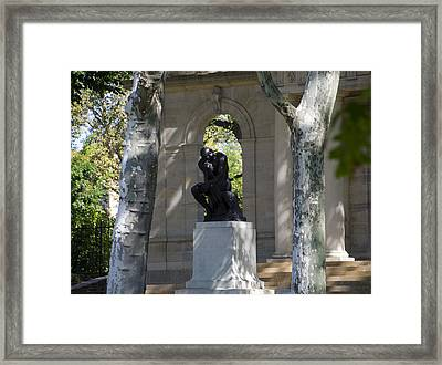 Rodin Museum - Philadelphia Framed Print by Bill Cannon