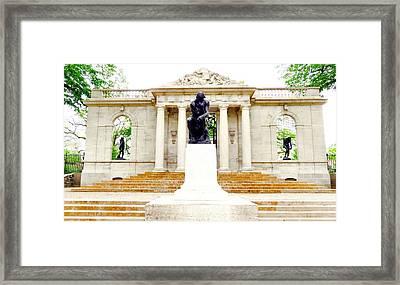 Rodins Framed Print