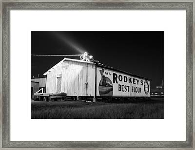 Rodkey's Best Framed Print