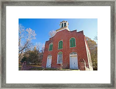 Rodney Presbyterian Church Framed Print by Russell Christie