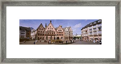 Roemer Square, Frankfurt, Germany Framed Print by Panoramic Images