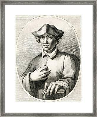 Roger Bacon, English Natural Philosopher Framed Print