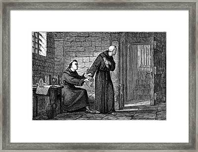 Roger Bacon Framed Print by Universal History Archive/uig