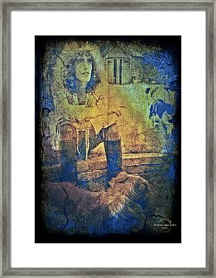 Roger Daltrey Framed Print by Absinthe Art By Michelle LeAnn Scott