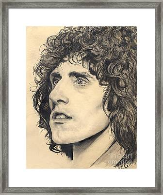 Roger Daltry Is Tommy Framed Print