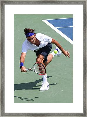 Roger Federer  Framed Print by James Marvin Phelps