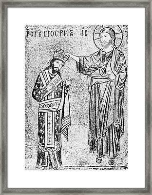 Roger II Of Sicily (1095-1154) Framed Print