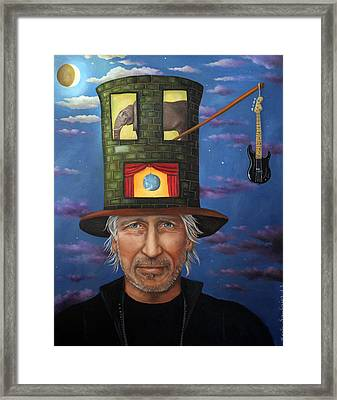 Roger Waters Framed Print by Leah Saulnier The Painting Maniac