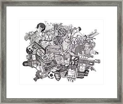 Rogucki And Wade Framed Print by Tyler Auman