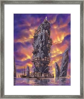 Rogue Haven Framed Print by Bryan Syme