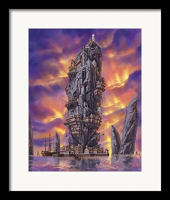 Monolith Framed Prints