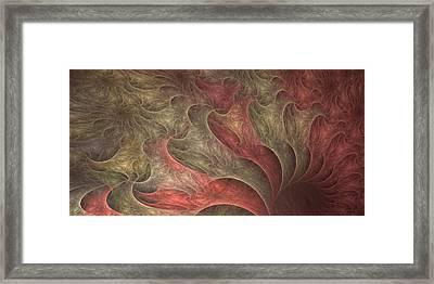 Roiling Pink Vortex Framed Print