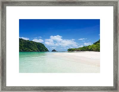 Rok Island Framed Print