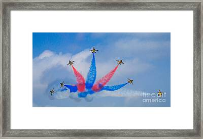 Rokaf Aerobatic Team Framed Print