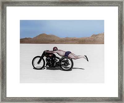 Roland Rollie Free Framed Print by Mark Rogan