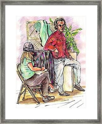 Role Reversal Framed Print by Joseph Levine