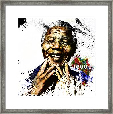 Rolihlahla Framed Print by The DigArtisT
