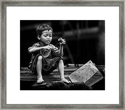 Roll And Play It Again Framed Print
