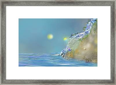 Roll Down Water Roll Framed Print by Greg Stew