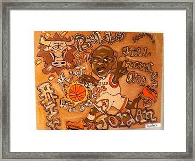 Roll In Rock Framed Print by Holiwood