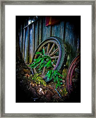 Roll No More Framed Print