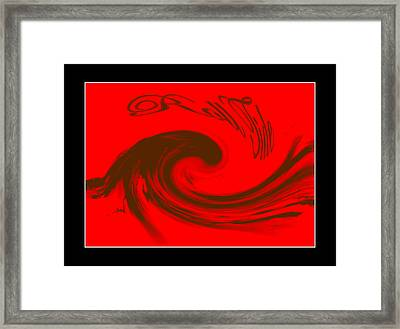 Roll Tide Roll - Alabama Football Framed Print