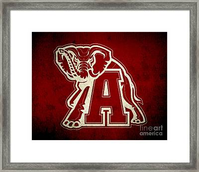 Roll Tide Framed Print by Scott Karan