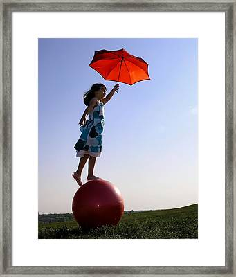 Roll With It Framed Print by Chrystyne Novack