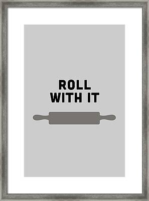 Roll With It Framed Print by Nancy Ingersoll