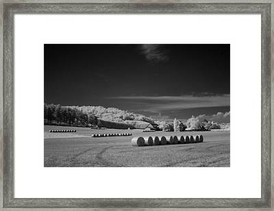 Rolled And Ready To Stack Framed Print by Jurgen Lorenzen