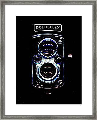 Rolleiflex 1950's Framed Print