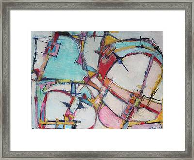 Roller Coaster Of Reincarnation Framed Print by Hari Thomas
