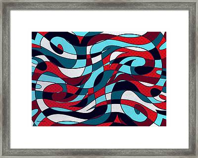 Roller Coaster Framed Print by Shawna Rowe