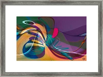Roller Painting No. 1 Framed Print