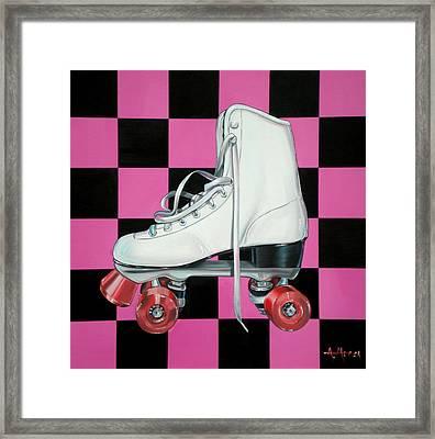 Roller Skate Framed Print