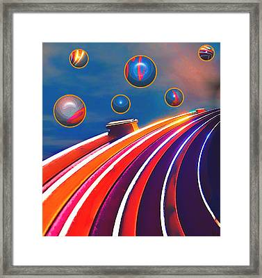 Rollerball Framed Print by Wendy J St Christopher