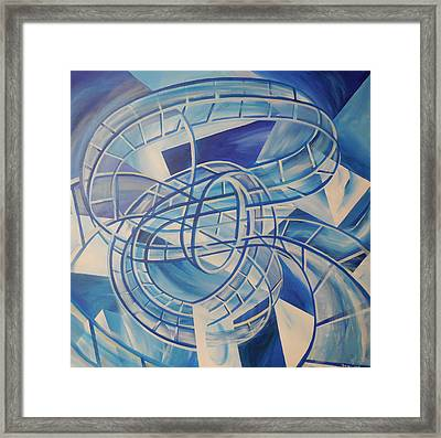 Rollercoaster Water Framed Print