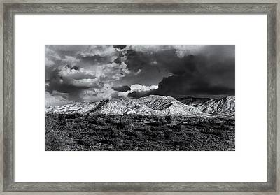 Rollin' Through 57 Framed Print