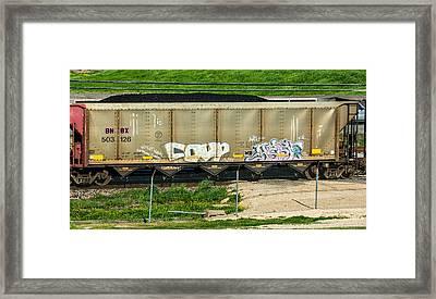 Rolling Art Framed Print by Steve Harrington