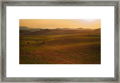 Tuscany - Rolling Framed Print by Francesco Emanuele Carucci
