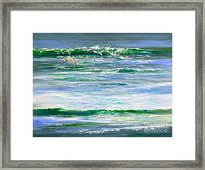 Rolling Green Framed Print by AnnaJo Vahle