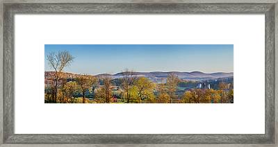 Rolling Hills Framed Print by Bill Wakeley