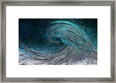 Rolling In The Deep Framed Print by Barbara Chichester