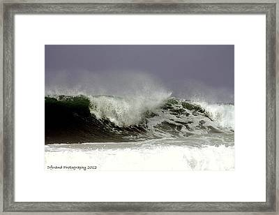 Rolling In The Deep Framed Print by Debra Forand