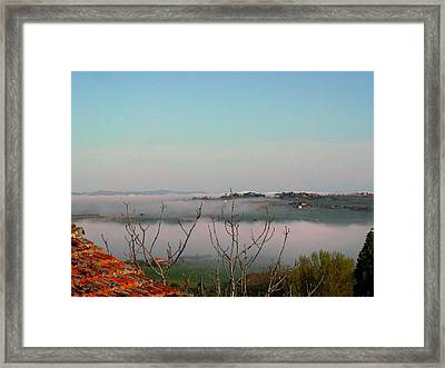 Rolling Mist Framed Print by Dorothy Berry-Lound