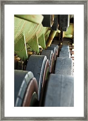 Rolling On Framed Print by Christi Kraft