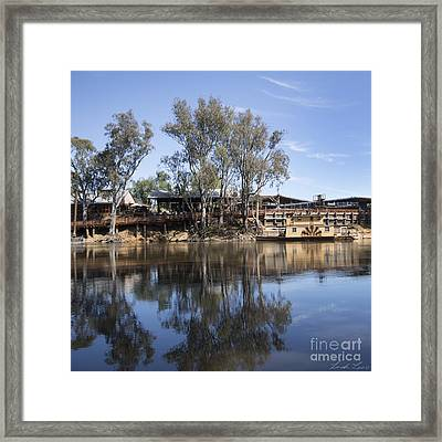 Rolling On The River Framed Print