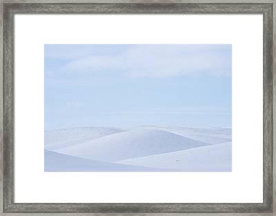 Rolling Palouse Winter Framed Print