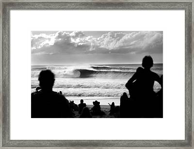 Rolling Thick Framed Print by Sean Davey